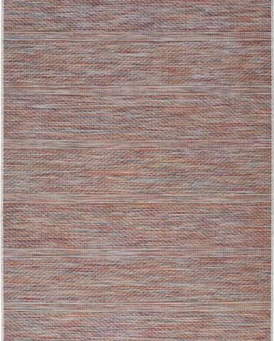 Tmavě červený venkovní koberec Universal Bliss, 75 x 150 cm