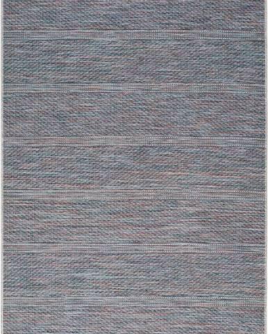 Tmavě modrý venkovní koberec Universal Bliss, 75 x 150 cm