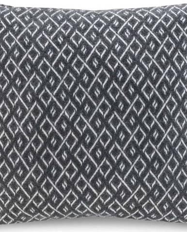 Tmavě šedý povlak na polštář Euromant Agave, 45 x 45 cm