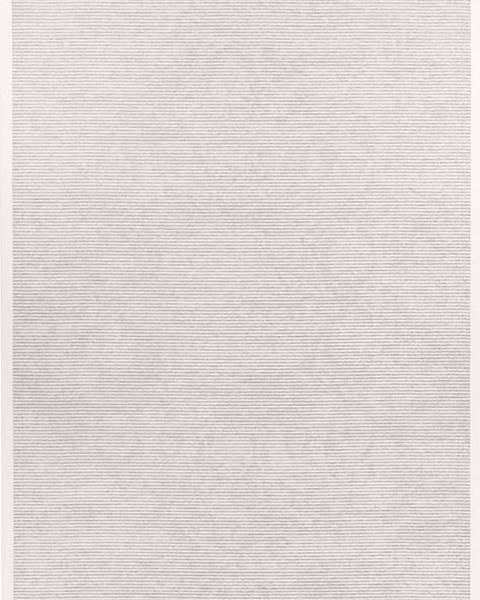 Narma Bílý oboustranný koberec Narma Palmse White, 100 x 160 cm