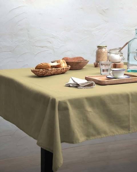 Linen Couture Ubrus Linen Couture Beige, 140 x 140 cm