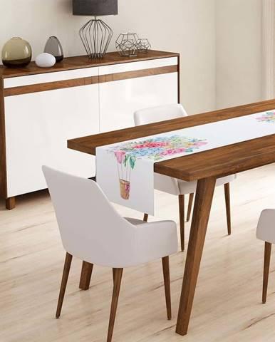 Běhoun na stůl Minimalist Cushion Covers Colorful Flowers,45x140cm