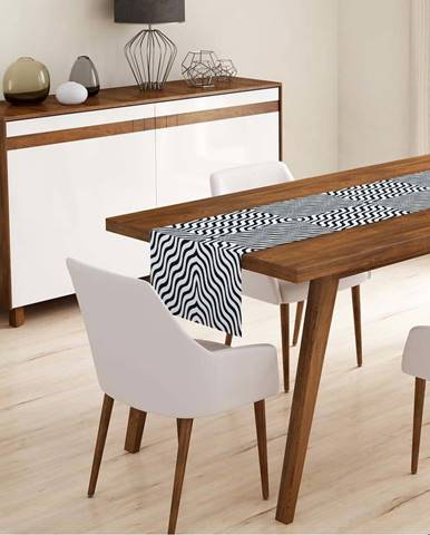 Běhoun na stůl Minimalist Cushion Covers Zigzag,45x140cm