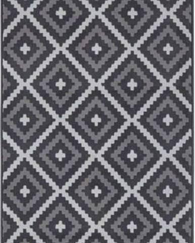 Černo-krémový běhoun Hanse Home Celebration Mazzo, 80 x 250 cm