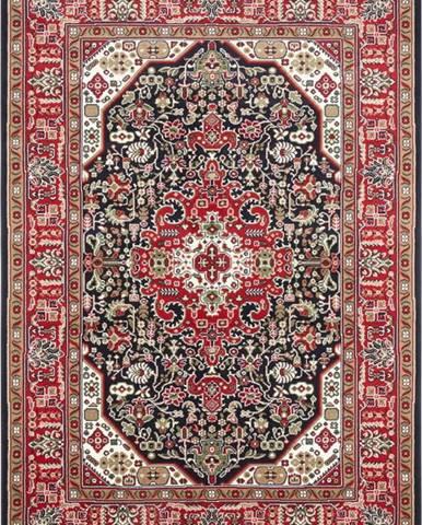 Červeno-modrý koberec Nouristan Skazar Isfahan, 120 x 170 cm