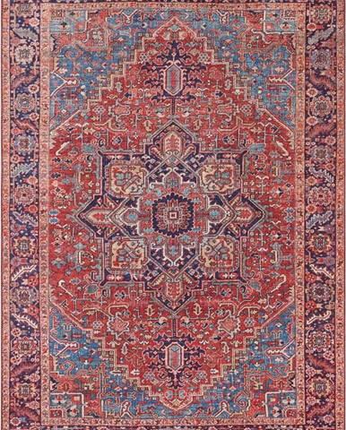 Červený koberec Nouristan Amata, 80 x 150 cm