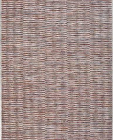 Červený venkovní koberec Universal Bliss, 55 x 110 cm