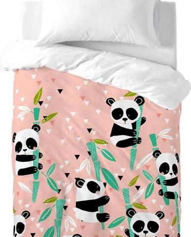 Dětské bavlněné povlečení Moshi Moshi Panda Garden, 100x120cm