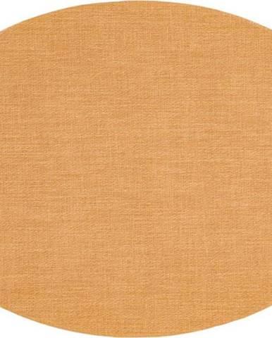 Hnědé prostírání Tiseco Home Studio Oval, 46 x 33 cm