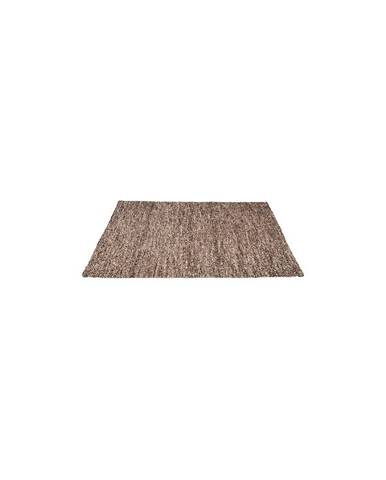 Hnědý koberec LABEL51 Dynamic, 140x160cm