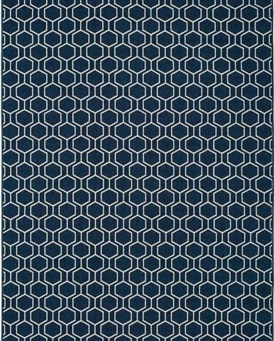 Modrý venkovní koberec Universal Clhoe, 140 x 200 cm