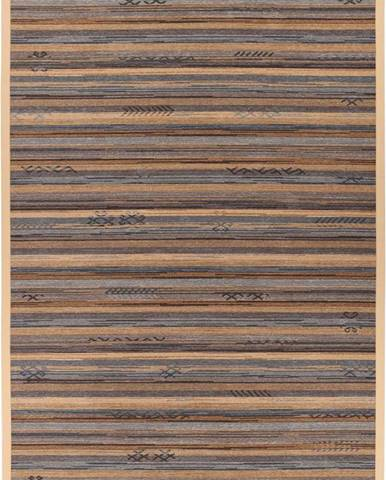 Oboustranný koberec Narma Liiva Gold, 80 x 250 cm