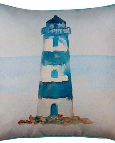 Povlak na polštář Mike&Co.NEWYORK Blue Lighthouse, 43 x 43 cm