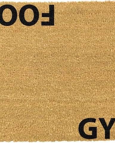 Rohožka z přírodního kokosového vlákna Artsy Doormats Gym Addict,40x60cm