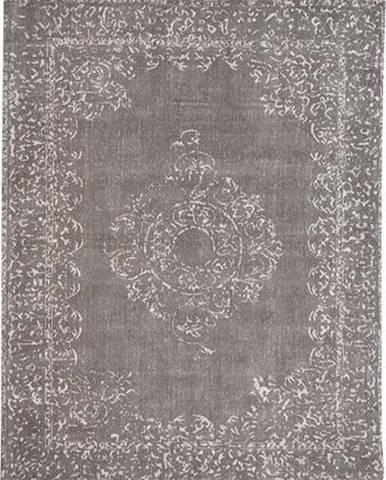 Šedý koberec LABEL51 Vintage, 160x140cm