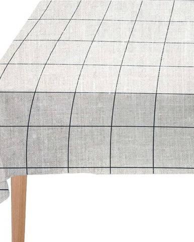 Ubrus Linen Couture Blue Lines, 140 x 140 cm