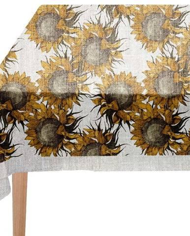 Ubrus Linen Couture Sunflower, 140 x 200 cm