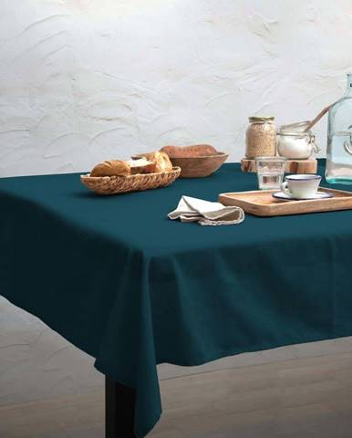 Ubrus Linen Couture Turquoise, 140 x 140 cm