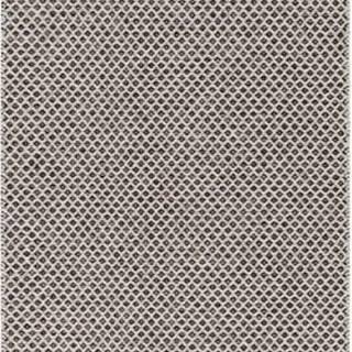 Krémovo-černý běhoun vhodný do exteriéru Narma Diby, 70x150cm