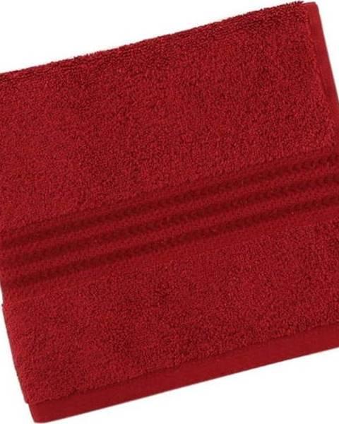 Hobby Červený bavlněný ručník Rainbow Red, 30 x 50 cm