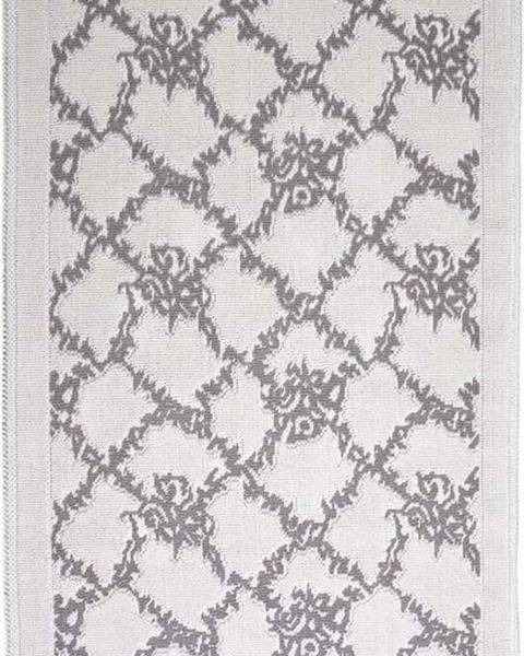 Vitaus Šedobéžový bavlněný koberec Vitaus Sarmasik, 100x150cm