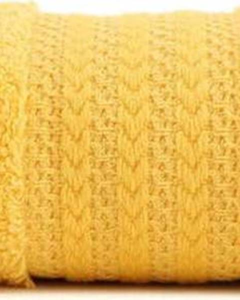 Hobby Žlutý ručník z čisté bavlny Sunny, 50 x 90 cm