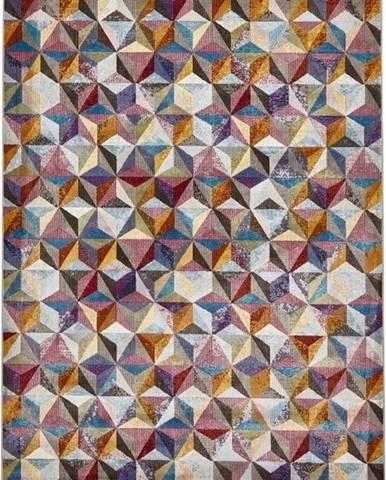 Barevný vzorovaný koberec Think Rugs 16th Avenue, 120x170cm