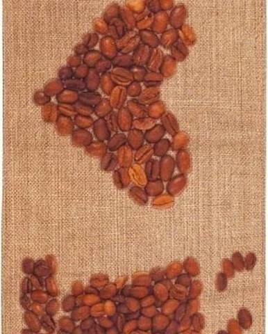 Běhoun Floorita Love Coffee, 60 x 150 cm
