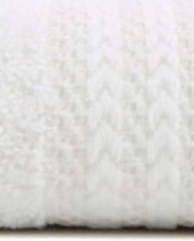 Bílý ručník z čisté bavlny Sunny, 30 x 50 cm