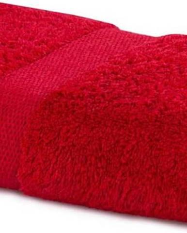 Červený ručník DecoKing Marina, 50 x 100 cm