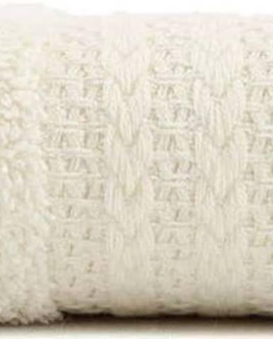 Krémový bavlněný ručník Amy, 30x50 cm