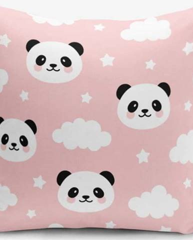 Povlak na polštář Minimalist Cushion Covers Panda, 45x45cm