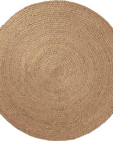 Přírodní jutový koberec La Forma Dip, ⌀ 100 cm