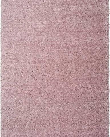 Růžový koberec Universal Floki Liso, 60 x 120 cm