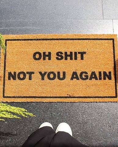Rohožka Doormat Oh Shit, 70 x 40 cm