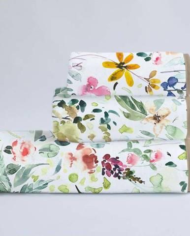 Sada 3 ručníků z bavlny a mikrovlákna Surdic Calm Flowers