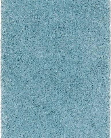 Světle modrý koberec Universal Aqua Liso, 57 x 110 cm