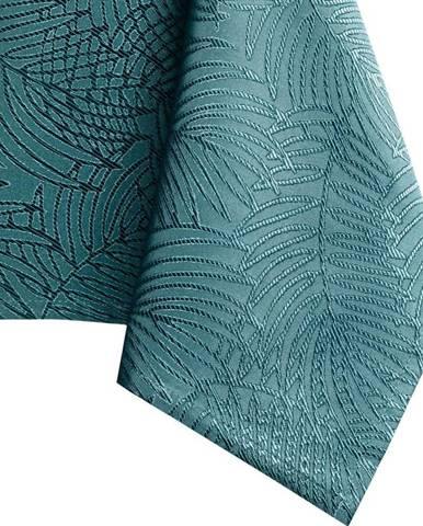 Tyrkysový ubrus AmeliaHome Gaia Marine, 110 x 160 cm