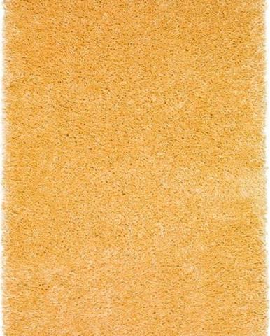 Žlutý koberec Universal Aqua Liso, 100 x 150 cm