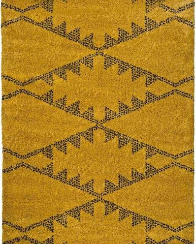 Žlutý koberec Universal Zaida Mostaza, 120x170cm