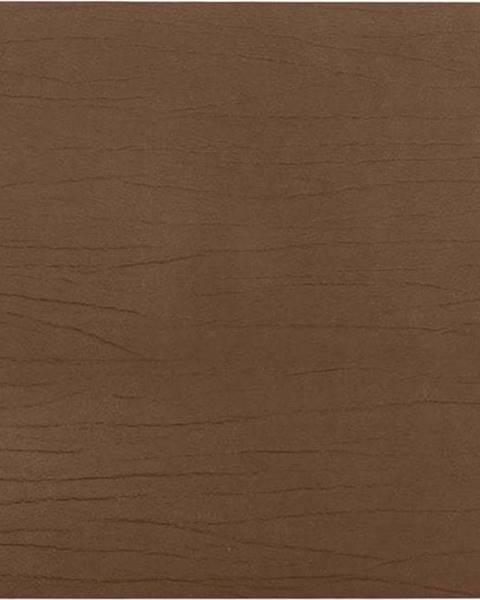 ZicZac Hnědé prostírání z recyklované kůže ZicZac Titane, 33x45cm