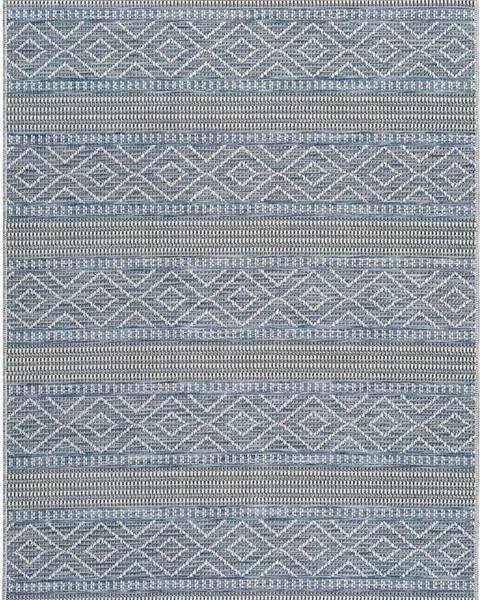 Universal Modrý venkovní koberec Universal Cork Lines, 130 x 190 cm