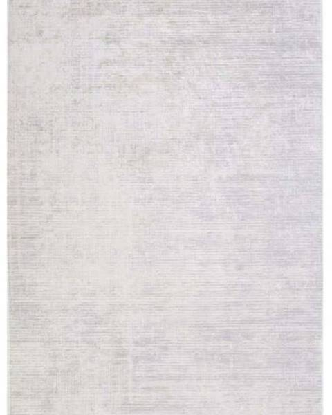 Vitaus Šedý koberec Vitaus Hali Geometrik, 80x150cm