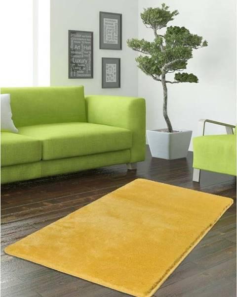 Bonami Žlutý koberec Milano, 140x80cm