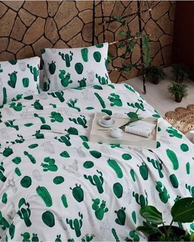Bavlněný přehoz přes postel Russno Plantea, 200 x 235 cm
