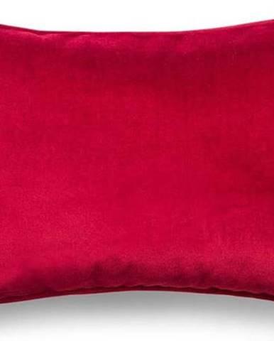 Červený povlak na polštář WeLoveBeds Elegant Burgundy, 40 x 60 cm