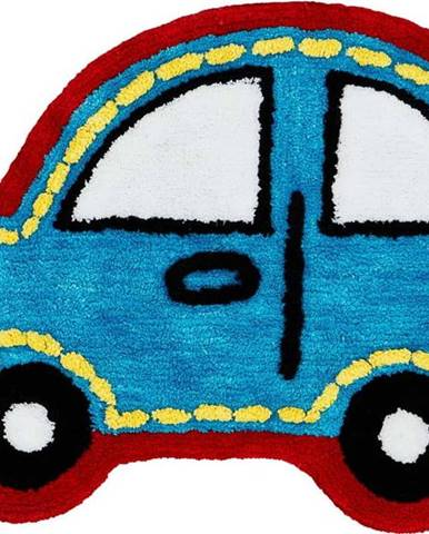 Dětský koberec ve tvaru auta Catherine Lansfield, 50 x 70 cm