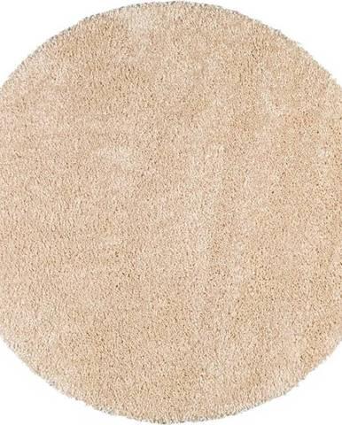 Krémově bílý koberec Universal Aqua Liso, ø100cm