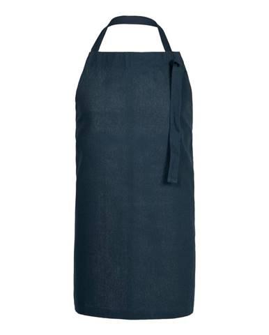 Modrá kuchyňská zástěra z bavlny Södahl