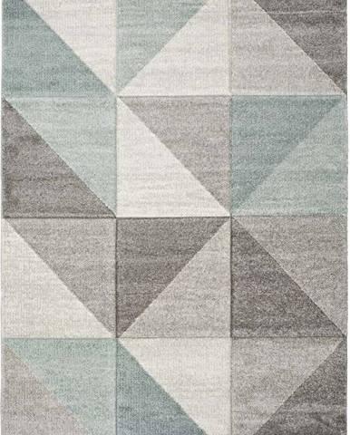 Modro-šedý koberec Universal Retudo Naia, 140x200cm